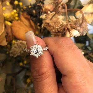 Jewelry - 🌹!4.85Ct Crown Cubic Zirconia Engagement Ring💍T